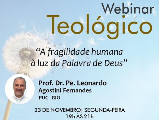 Seminário Santo Antônio e UniAcademia promovem Webinar Teológico