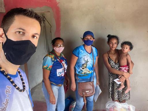 Paróquia São Martinho de Lima realiza entrega de cestas básicas para a população vulnerável