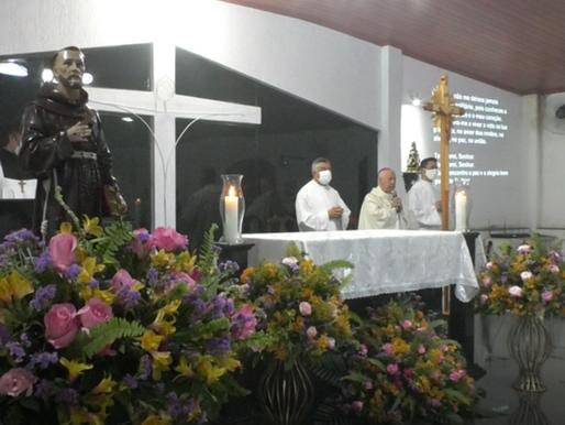 Comunidade do Parque Guarani festeja padroeiro com Missa presidida pelo Arcebispo