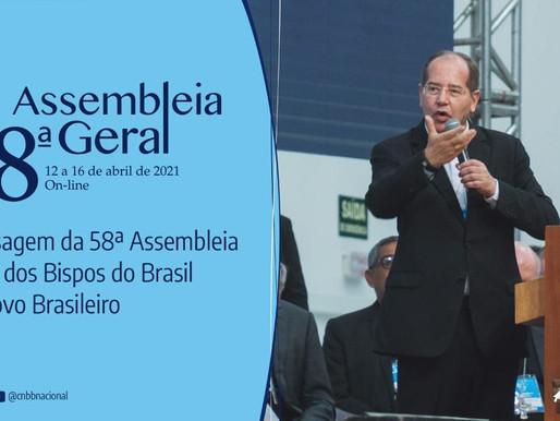 CNBB divulga mensagem ao povo brasileiro aprovada pelos bispos na Assembleia Geral