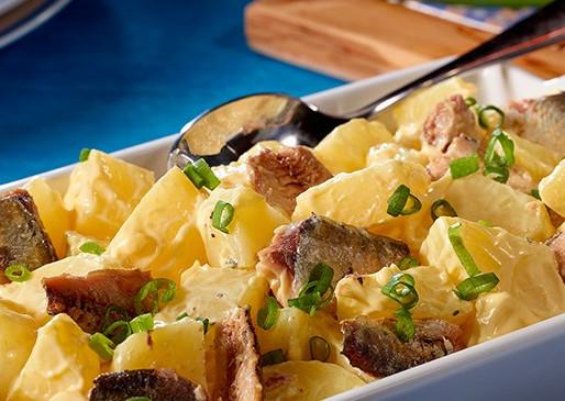 Salada de Batata com Sardinha