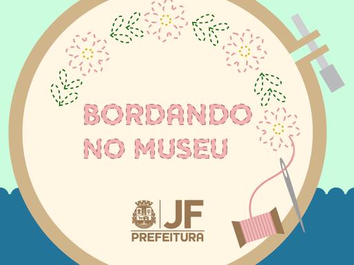 Sétima edição do projeto Bordando no Museu será no domingo (7)
