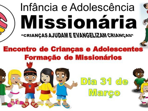 Paróquia Santo Antônio do Paraibuna realiza encontro da Infância e Adolescência Missionária