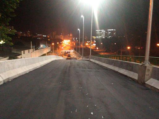 Obra da alça do Viaduto Augusto Franco entra em fase final
