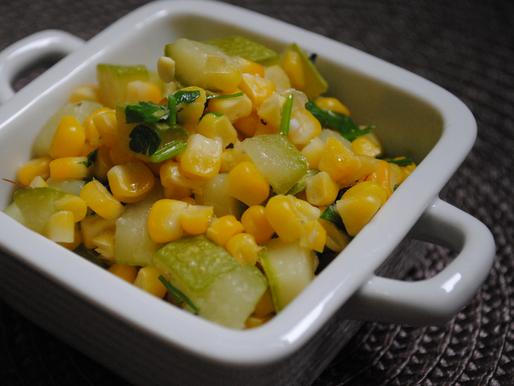Milho Verde com Abobrinha (Vegana)