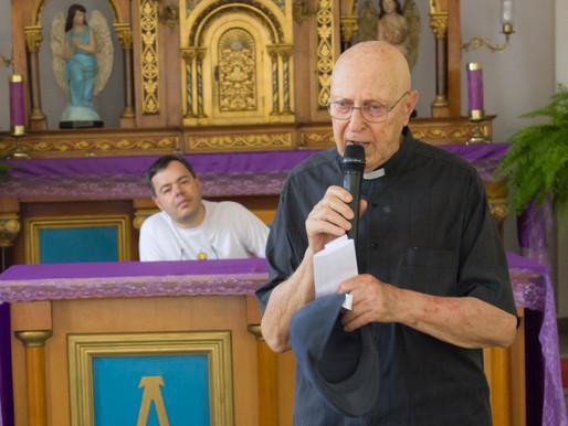Monsenhor Miguel Falabella partiu para a casa do Pai