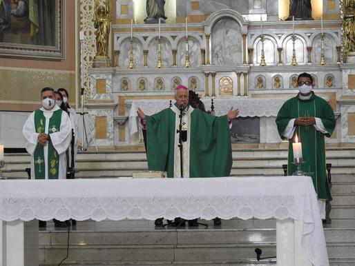 Dom Gil celebra 6º Domingo do Tempo Comum e dá orientações para a cerimônia de imposição das cinzas