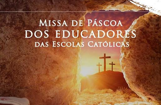 Escolas Católicas celebram a Páscoa com Missa na Catedral