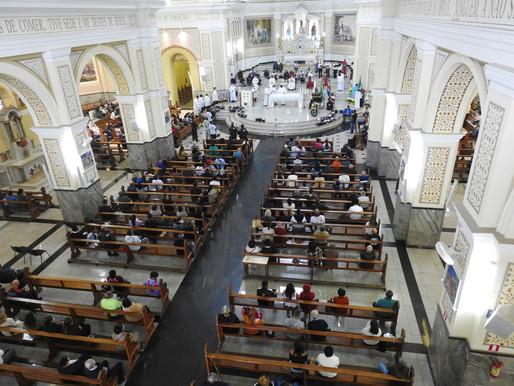 Catedral recebe motociata em honra à Nossa Senhora Aparecida