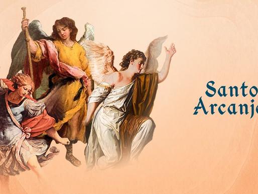 São Miguel, São Gabriel e São Rafael, os Santos Arcanjos, são festejados na Arquidiocese JF