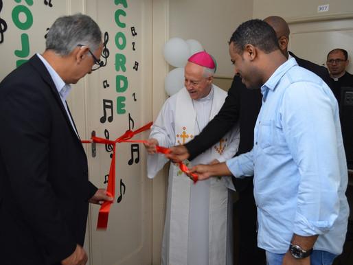 Inaugurada Escola de Música no Instituto Padre João Emílio