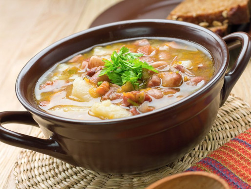 Sopa de Feijão à Brasileirinha