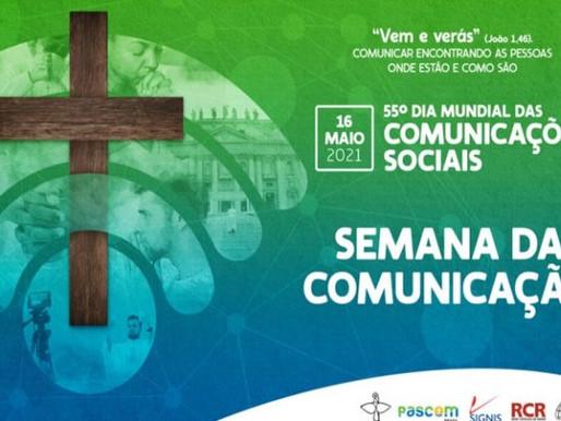 Pascom Brasil divulga a programação da Semana da Comunicação
