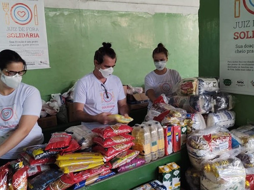 Campanha Juiz de Fora Solidária conta com mais um ponto fixo de arrecadação de doações