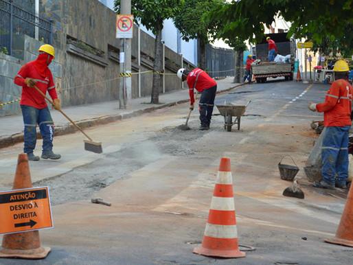 Cesama inicia substituição de 180 metros de redes de esgoto no Bairro Granbery