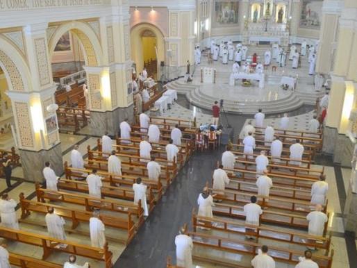 Missa da Unidade vai ser celebrada neste sábado (8)