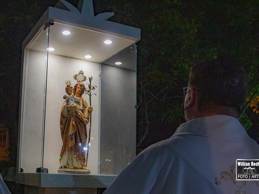 Dom Gil inaugura Marco de São José em Bicas