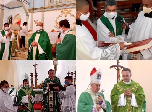Mais quatro paróquias da Arquidiocese JF recebem novos padres