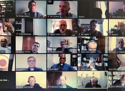Bispos do Regional Leste 2 se encontram em reunião virtual