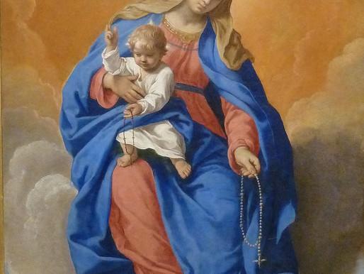 07 de Outubro: Nossa Senhora do Rosário