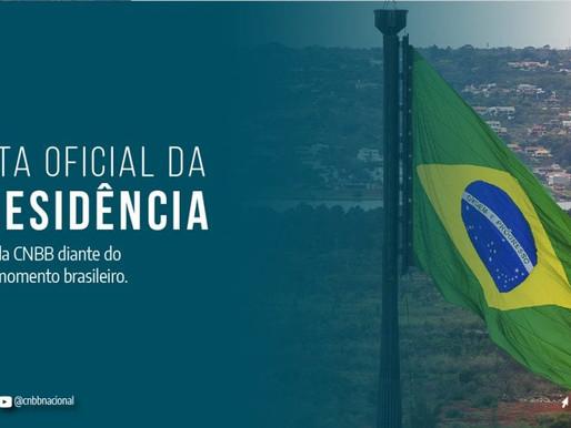 CNBB divulga nota sobre atual  momento da conjuntura brasileira
