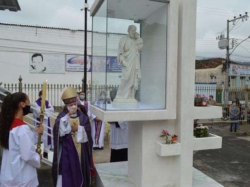 Monumento em homenagem a São José é inaugurado