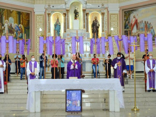 Transfiguração no Itinerário Quaresmal