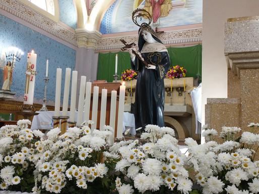 Santa das causas impossíveis: paróquias e comunidades celebram Santa Rita de Cássia