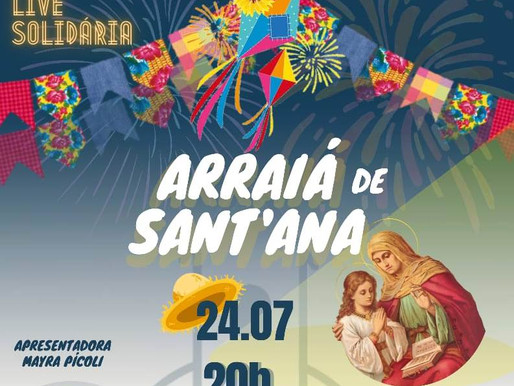 Arraiá de Sant'Ana na Paróquia do Bairro Vila Ideal, em JF, celebra festa da Padroeira