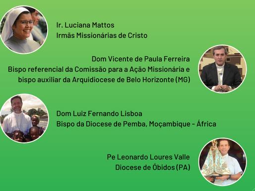 COMIRE Leste 2 realizará live sobre Vocação Missionária em tempos de Pandemia
