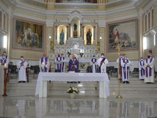 A despedida de Monsenhor Miguel Falabella de Castro