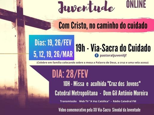 Via-Sacra Sinodal da Juventude será online e tem início nesta sexta, 19