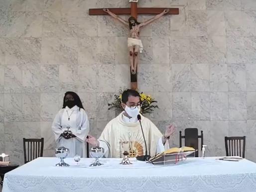 Padre Anderson Monteiro substitui Padre Renato na Paróquia do Bairu