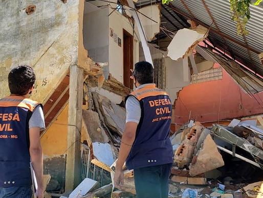 Defesa Civil de Juiz de Fora envia profissionais para ação de emergência em Carangola