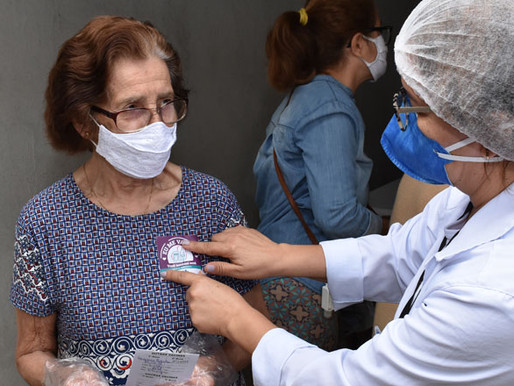 Idosos com 82 anos começam a ser vacinados nesta quarta (17) em Juiz de Fora
