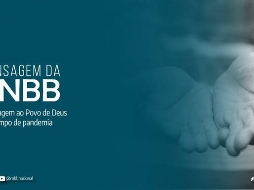 CNBB reforça a esperança, a caridade e missão da Igreja no Brasil no contexto da pandemia