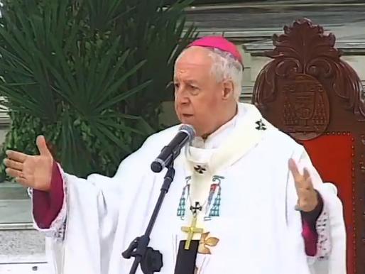 Dom Gil celebra 6º Domingo da Páscoa e Missa das Mães na Catedral