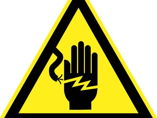 Tenente dos Bombeiros fala sobre choques elétricos