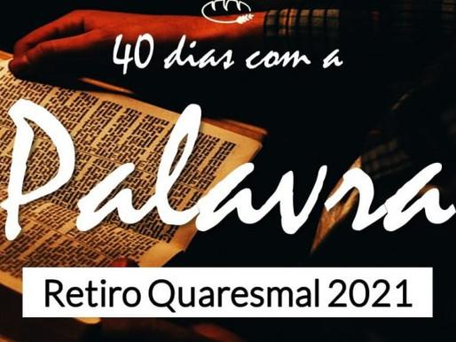 Seminarista propõe Retiro Quaresmal de 40 dias com a Palavra