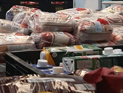 """""""Juiz de Fora Solidária"""" arrecada mais de seis toneladas de doações em dois dias"""