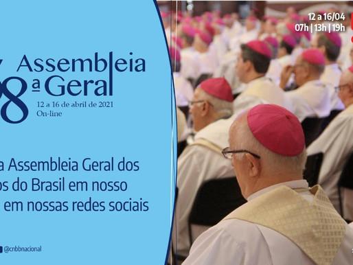 Começa hoje a 58ª Assembleia Geral da CNBB