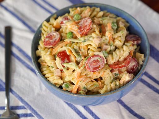 Salada de Macarrão Cremoso