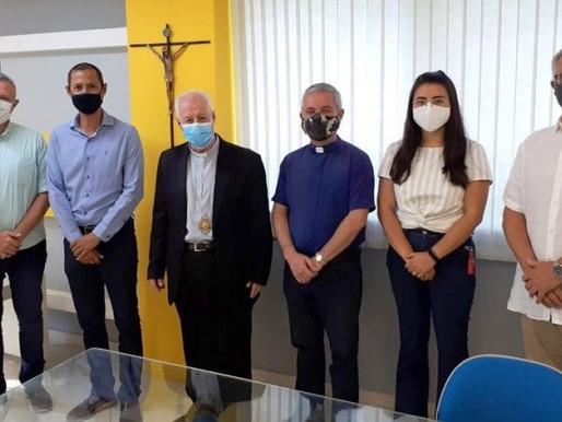 Arquidiocese e Imbel formalizam termo de cessão de uso de capela na Zona Norte de Juiz de Fora