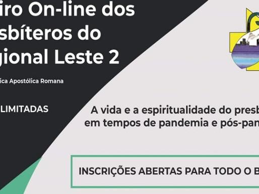 Inscrições para o Retiro On-line de Presbíteros do Regional Leste 2 estão abertas