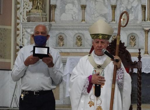 Missa em ação de graças pelos 90 anos de funcionário mais antigo da Catedral de Juiz de Fora