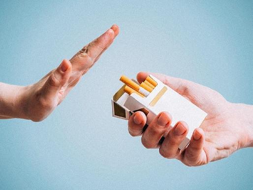 Malefícios do cigarro e benefícios de parar de fumar