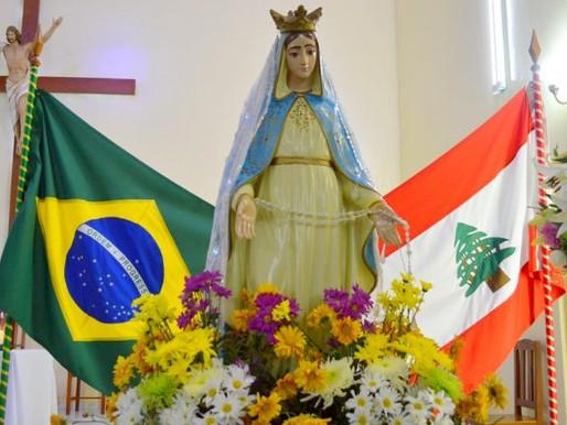 Paróquia Nossa Senhora do Líbano celebra a padroeira neste domingo, 16 de maio