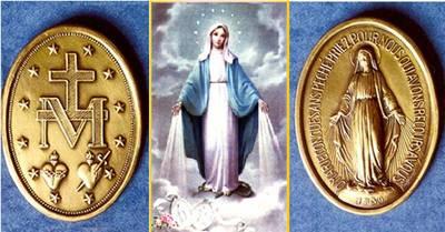 27 de novembro: Dia de Nossa Senhora das Graças e da Medalha Milagrosa
