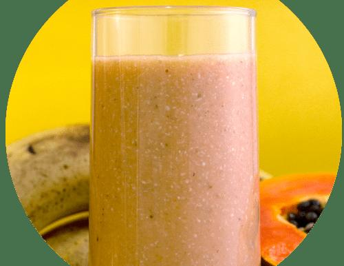 Vitamina de Frutas com Leite de Aveia
