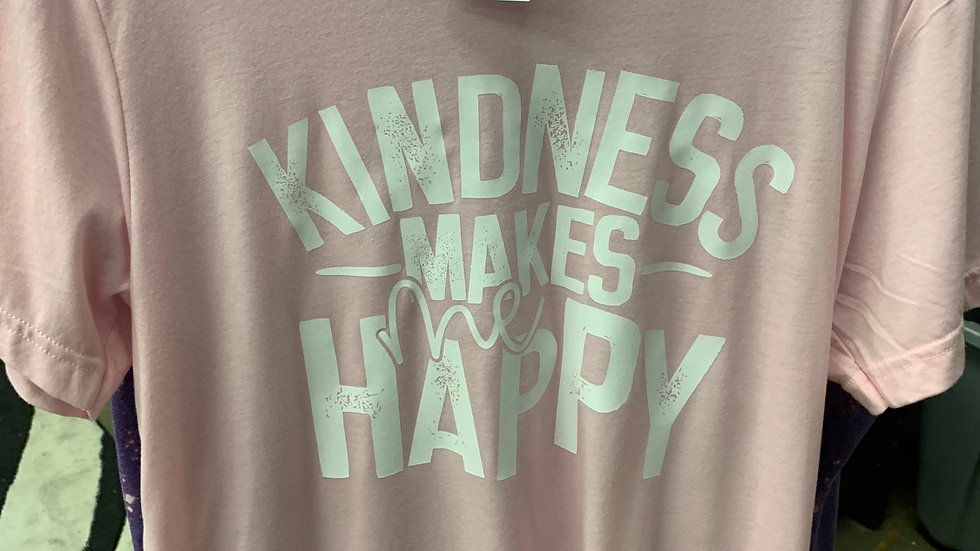 Kindness makes me happy